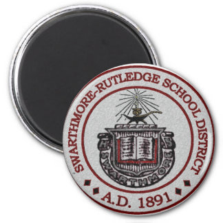 Swarthmore High School Logo Design 1 Magnet