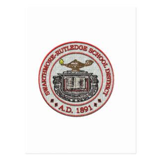 Swarthmore High School Logo Design 4 Postcard