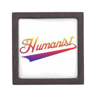 Swash del naranja del humanista caja de joyas de calidad