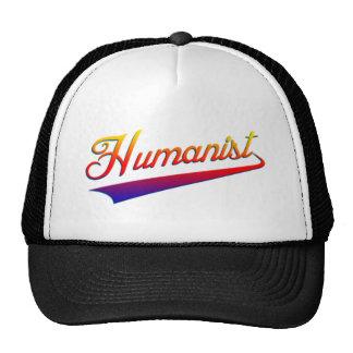 Swash del naranja del humanista gorro de camionero