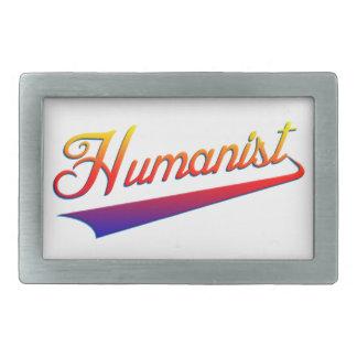 Swash del naranja del humanista hebilla cinturon rectangular