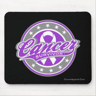 Swash Logo GIST Cancer Survivor Mouse Pad