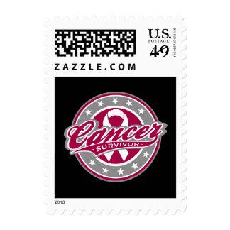 Swash Logo Head and Neck Cancer Survivor Stamps