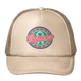 Swash Logo Thyroid Cancer Survivor Hats