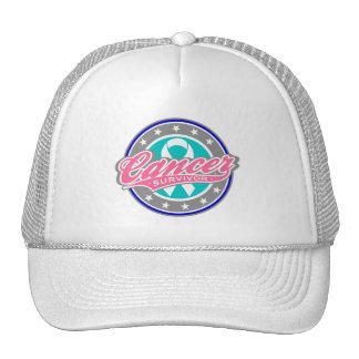 Swash Logo Thyroid Cancer Survivor Mesh Hats