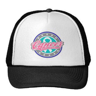 Swash Logo Thyroid Cancer Survivor Trucker Hat