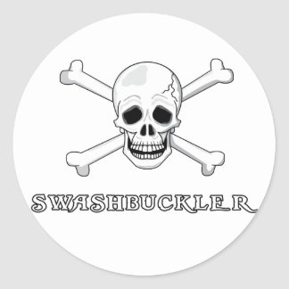 Swashbuckler Classic Round Sticker