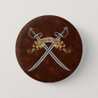Swashbuckler Pinback Button