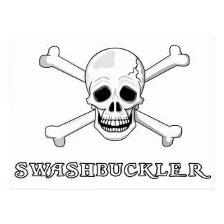 Swashbuckler Postcard