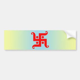 swastika bumper sticker