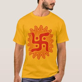 Swastika : Indian Traditional Symbol T-Shirt