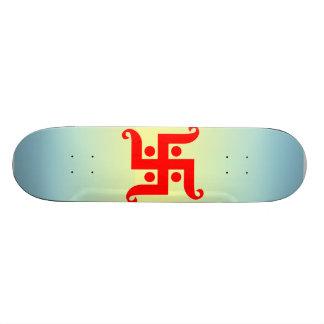 swastika skateboard deck