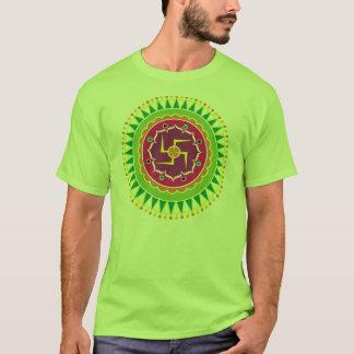 Swastika with Traditional Indian style Mandana T-Shirt