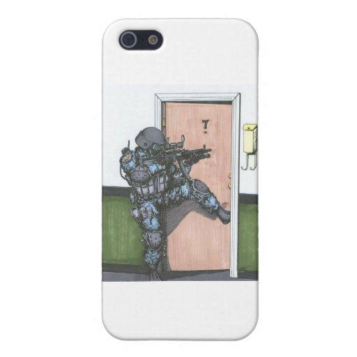 SWAT_Door_Entry iPhone 5 Carcasa