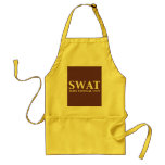 SWAT Elite Tactical Unit Gifts Adult Apron