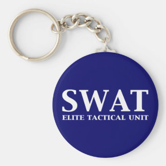 SWAT Elite Tactical Unit Gifts Key Chains
