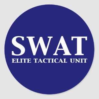 SWAT Elite Tactical Unit Gifts Stickers