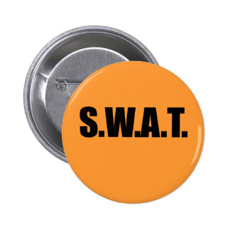 SWAT HALLOWEEN COSTUME png Pinback Button