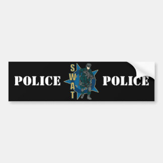 SWAT Officer Bumper Sticker