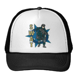 SWAT Officer Trucker Hat