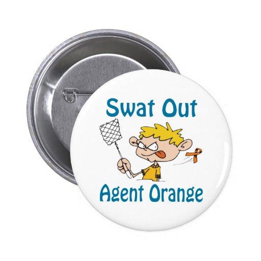 Swat Out Agent Orange Button