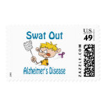 Swat Out Alzheimer'S-Disease Stamp