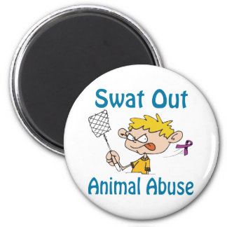 Swat Out Animal-Abuse Magnet