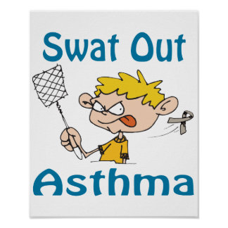 Swat Out Asthma Poster