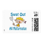 Swat Out Av-Malformation Stamp