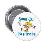 Swat Out Bulimia Button