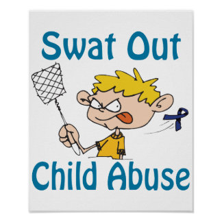 Swat Out Child-Abuse Poster