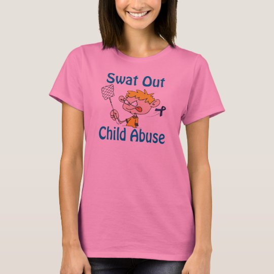 Swat Out Child-Abuse Shirt