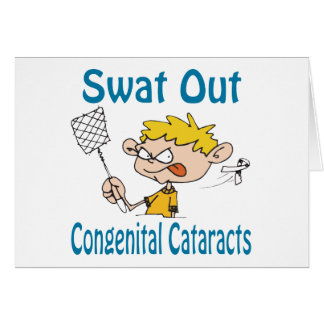 Swat Out Congenital-Cataracts Card