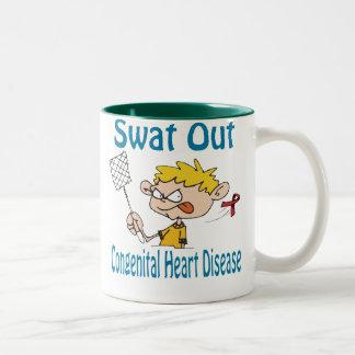 Swat Out Congenital-Heart-Disease Mug