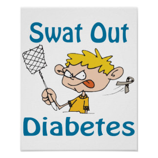 Swat Out Diabetes Poster