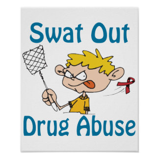 Swat Out Drug-Abuse Poster