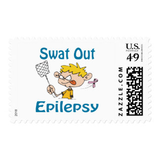 Swat Out Epilepsy Stamp