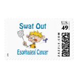 Swat Out Esophageal-Cancer Stamp