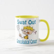 Swat Out Gynecological-Cancer Mug