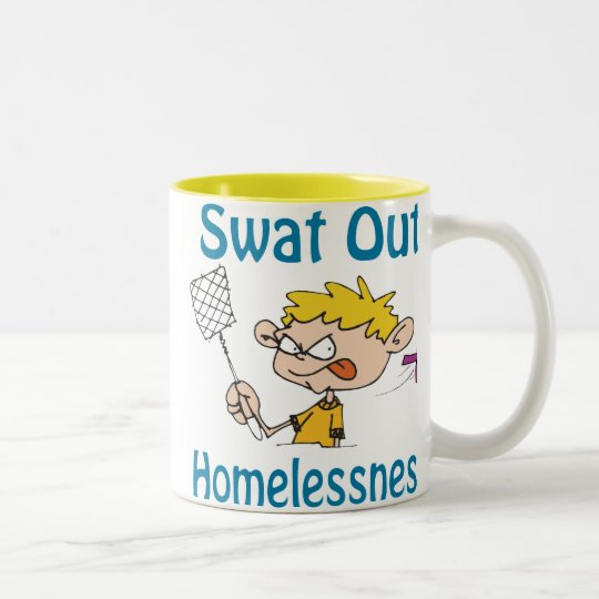 Swat Out Homelessness Mug