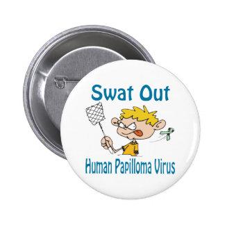 Swat Out Human-Papilloma-Virus Button