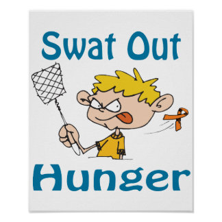 Swat Out Hunger Poster
