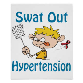 Swat Out Hypertension Poster