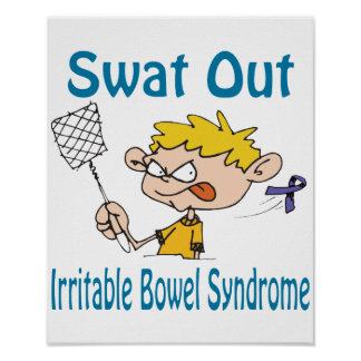 Swat Out Irritable-Bowel-Syndrome Poster