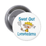 Swat Out Lymphedema Button