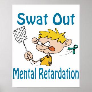 Swat Out Mental-Retardation Poster