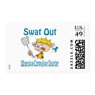 Swat Out Obsessive-Compulsive-Disorder Stamp
