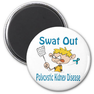 Swat Out Polycystic-Kidney-Disease Magnet