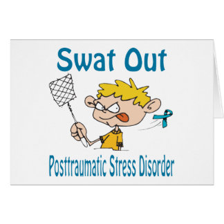 Swat Out Posttraumatic-Stress-Disorder Card