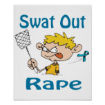 Swat Out Rape Poster